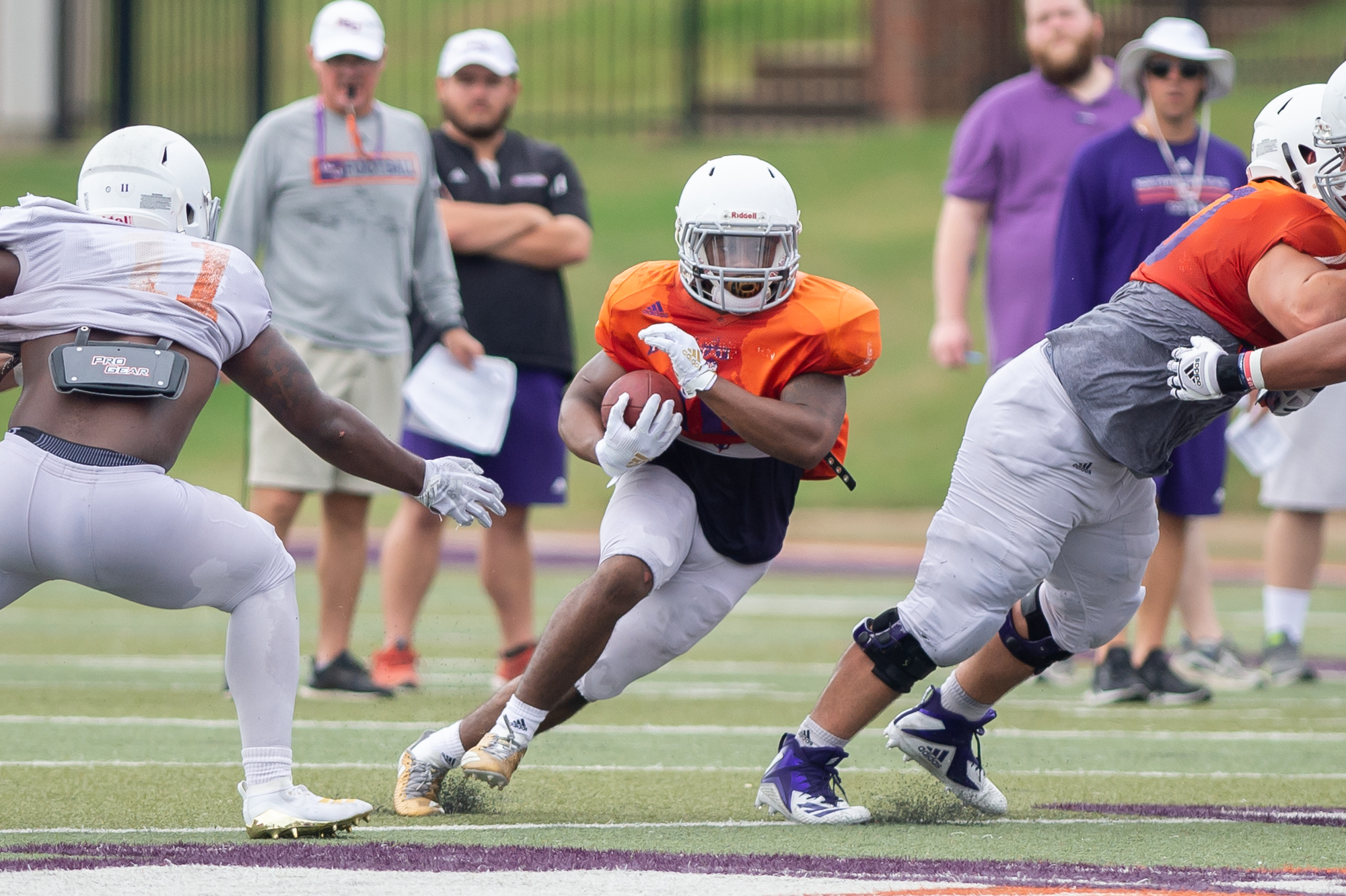 Demons eye consistency, effort in first scrimmage of fall ...