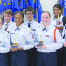 Lakeview ROTC promotions and awards ceremony