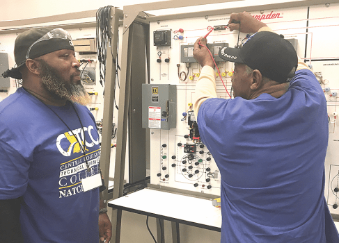 Local CLTCC campus is first time host to SkillsUSA testing