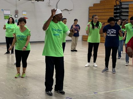 Couple keeps community healthy through line dancing