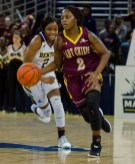 Abrionna had three points and three rebounds Tuesday in Natchitoches Central's 63-39 loss to Benton in the Class 5A semifinals. By Roderick Anderson
