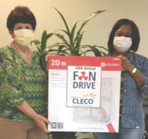 Natchitoches Council on Aging participates in 20th Annual Cleco Fan Drive