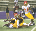 Natchitoches Central comes up short in their season opener, losing 31-13 to Lake Charles College Prep