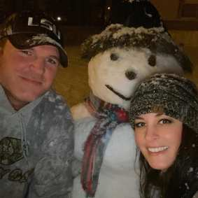Chad Bates and Courtney Busby