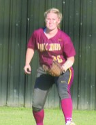 """# 16 Abigail """"Abbey"""" Bevill led the Natchitoches Central Lady Chiefs in hits!"""