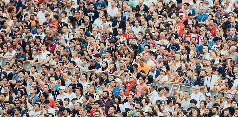 Photo of a crowd of people. It is critical to your business to understand and know your customers