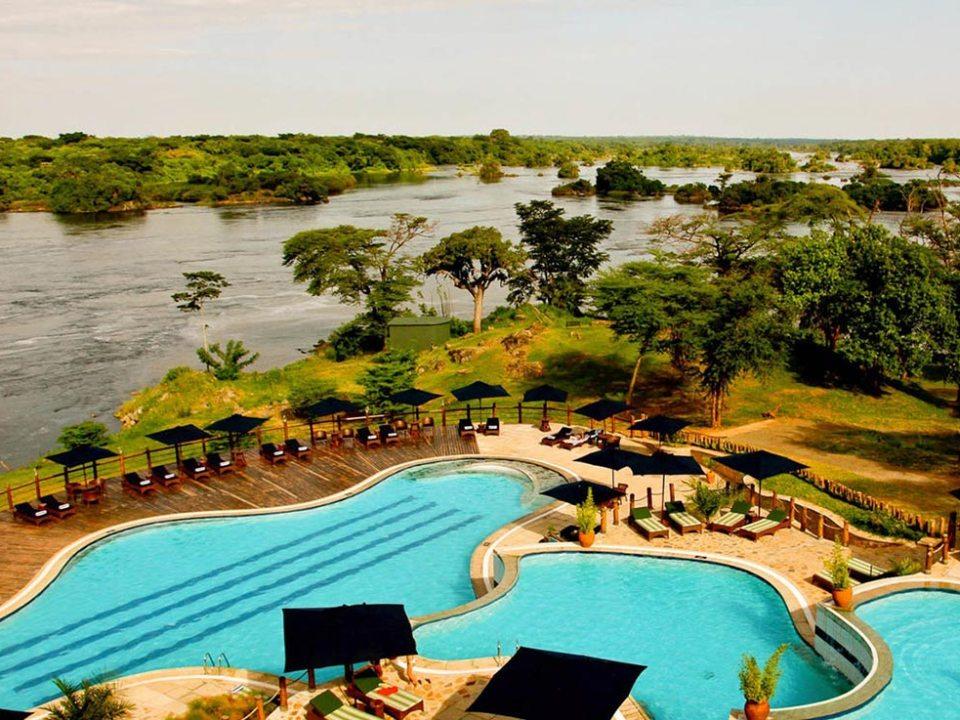 Where to go in Uganda. Kyobe Safari lodge in Murchison Falls National Park