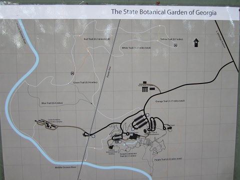 The State Botanical Gardens Trails  Best Places To Run in Athens GA