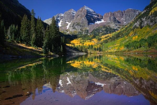 fall perfection maroon bells