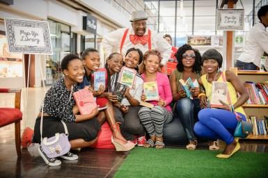 READ Pop-Up Library at Jabulani Mall during International Litera