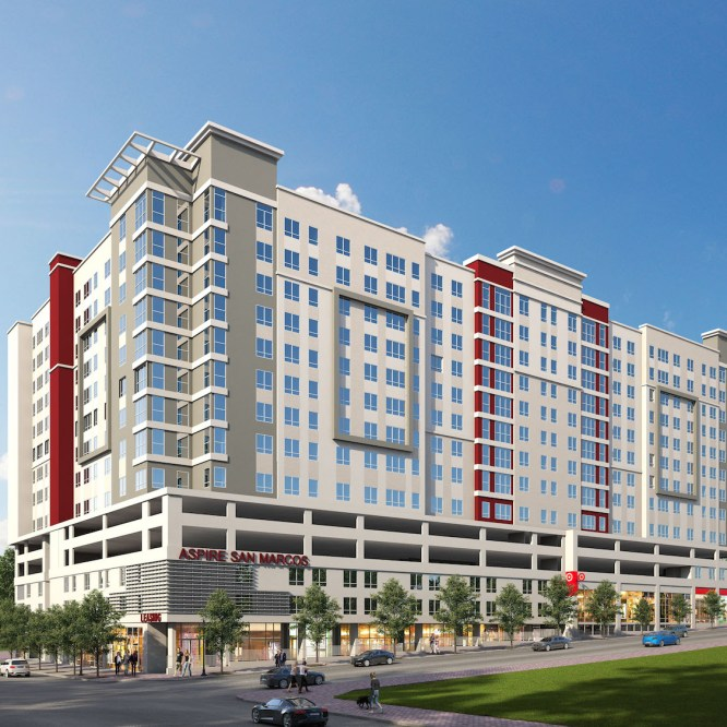 High-Rise Apartment Complex To Change San Marcos Skyline In 2020
