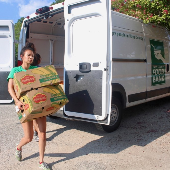 Hays County Food Bank Struggles With Limited Donations And Not Enough Space