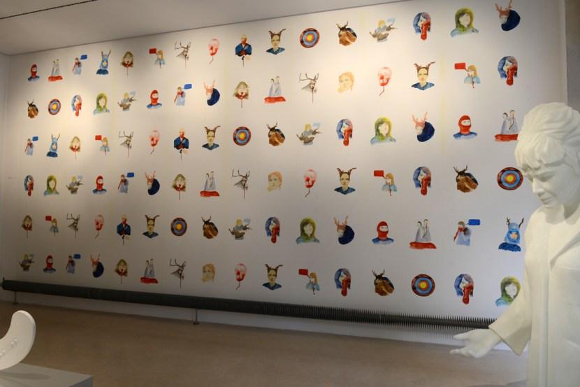 Wallpaper, photo Gérard Jonca / Sèvres-Cité de la céramique