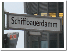 Schiff=Ship, according to Google Translate. So this is the Ship's version of Bauer's Dam. Or something.