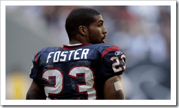 Arian Foster: I know he's not playing today but the dude is a boss. Looking forward to him beasting in the rest of the season.