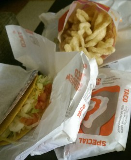 The glorious tacos & cinnamon twists