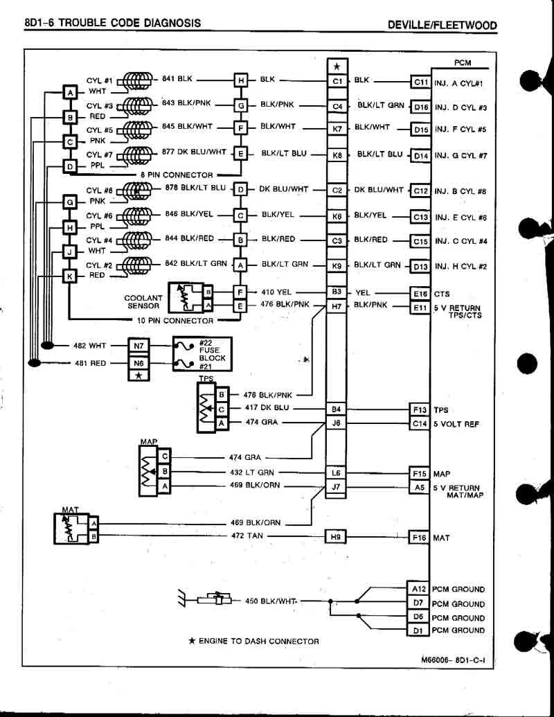 1969 Cadillac 472 Vacuum Diagram. Cadillac. Auto Wiring