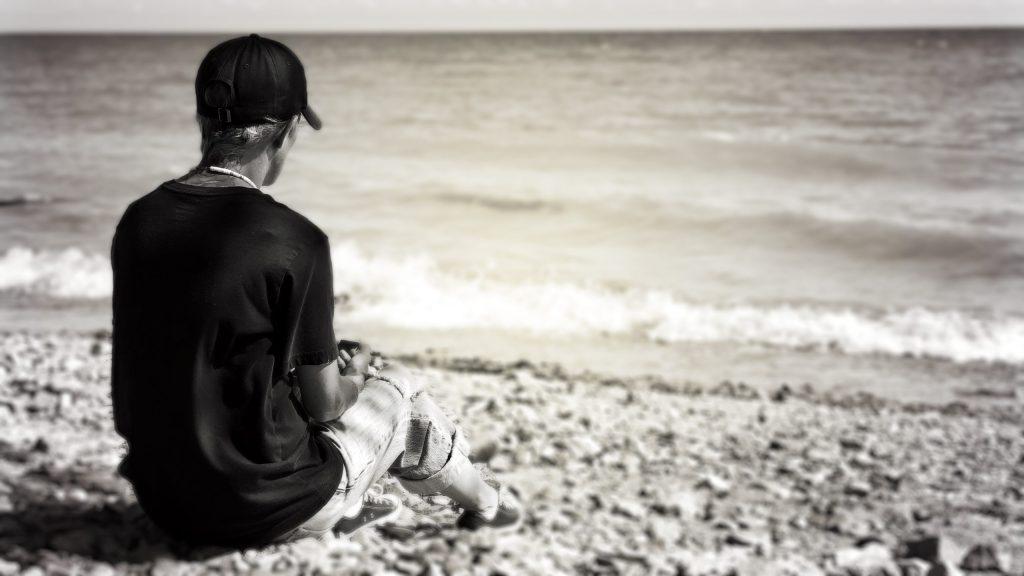 Bridget on the Beach