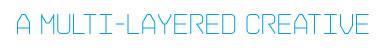 multi, layered, creative, brand, design, design, graphic