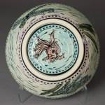 bowl (lotus flower reverse)