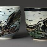 cups (bald eagle)