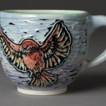 cups (purple finches)