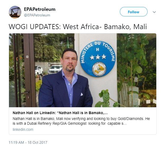 Nathan Hall Jr. Twitter Lies