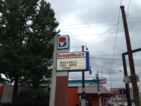 I think your pop culture reference is about seven months too late...nice try though, Burgerville.