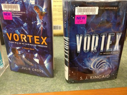 I saw this in the young adult section of the library. I'm really hopeful it was intentional.