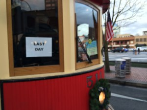 The Portland Vintage Trolley is being sold at the end of the month, so this past Sunday was its last run.