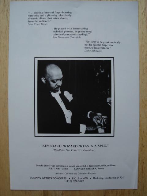 Don Shirley Biography