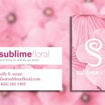 Sublime Floral Business Card
