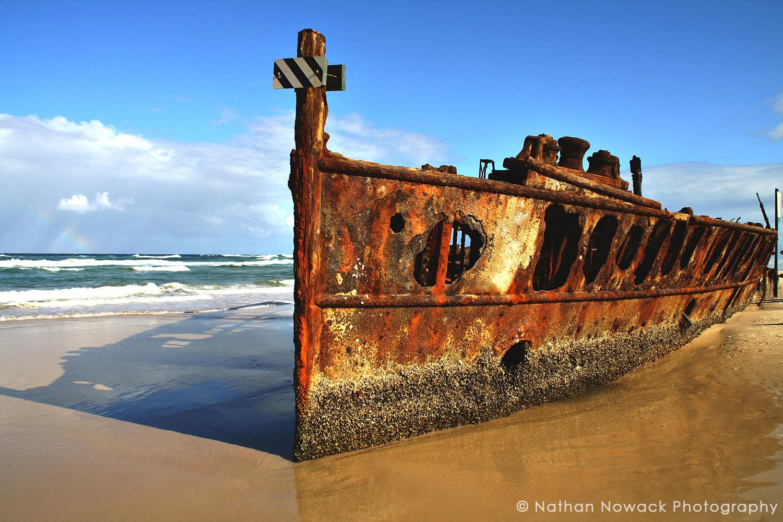 Shipwreck Maheno - Australia- Fraser Island