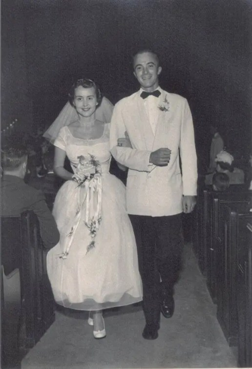 RJG and MJG wedding