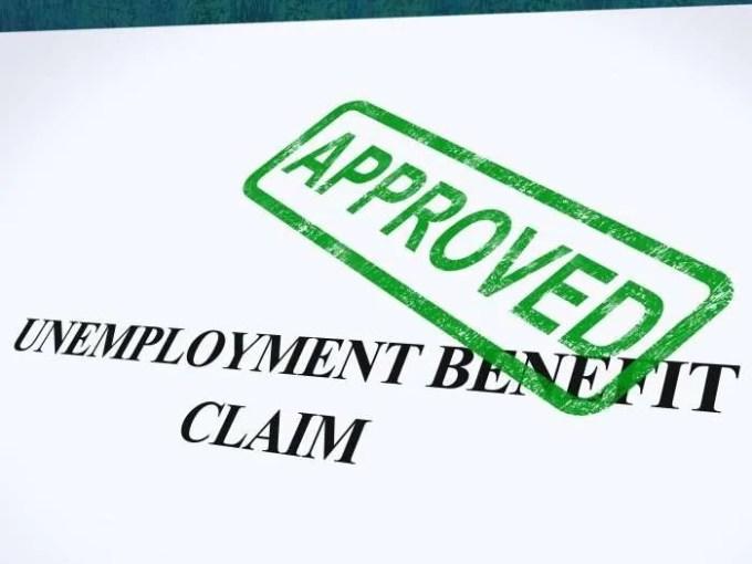 nemployment benefits approved