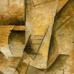 Detail from The Guitar Player by Pablo Picasso