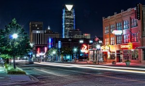 Automobile Alley, a unique part of Oklahoma City's innovation district.