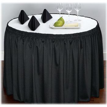 Restaurant Table Skirts  National Hospitality Supply