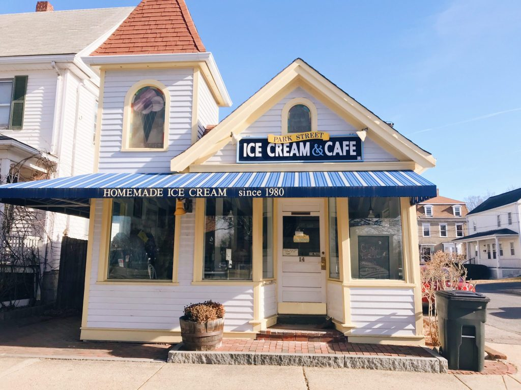 Natick, Park St. Ice Cream & Cafe