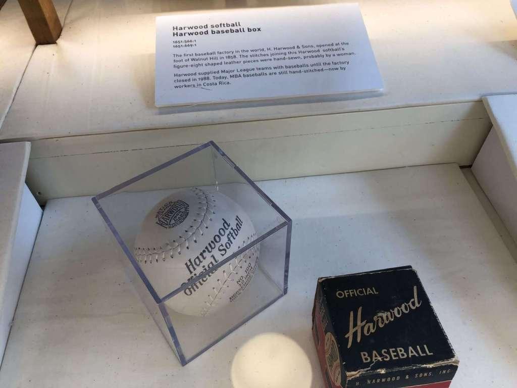 Harwood baseball Natick History Museum