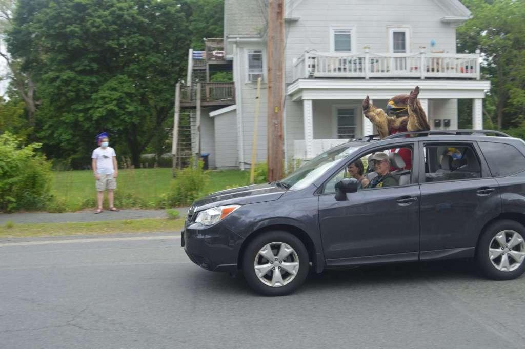 Natick school parade