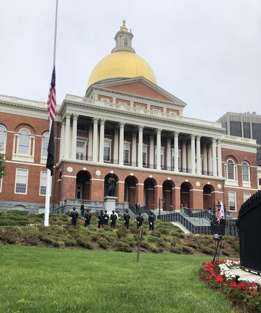 State House Memorial Day ceremony