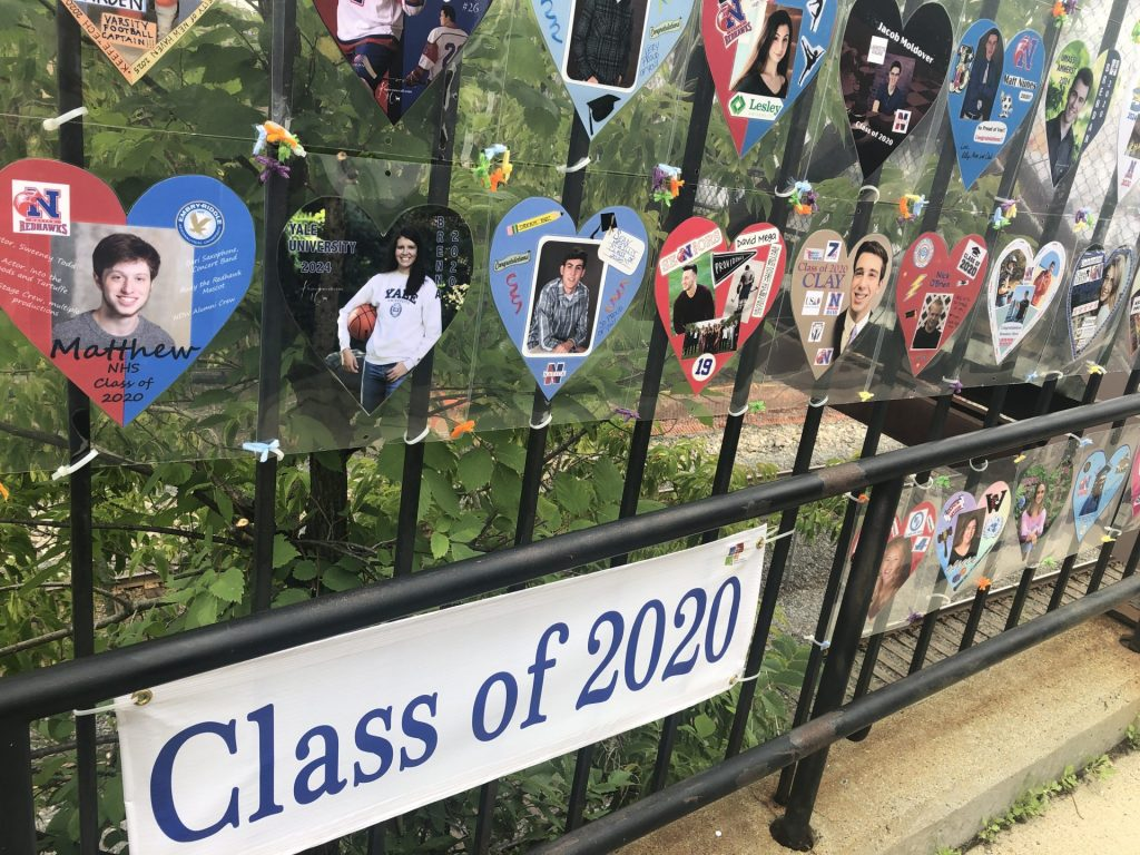 class of 2020 hearts