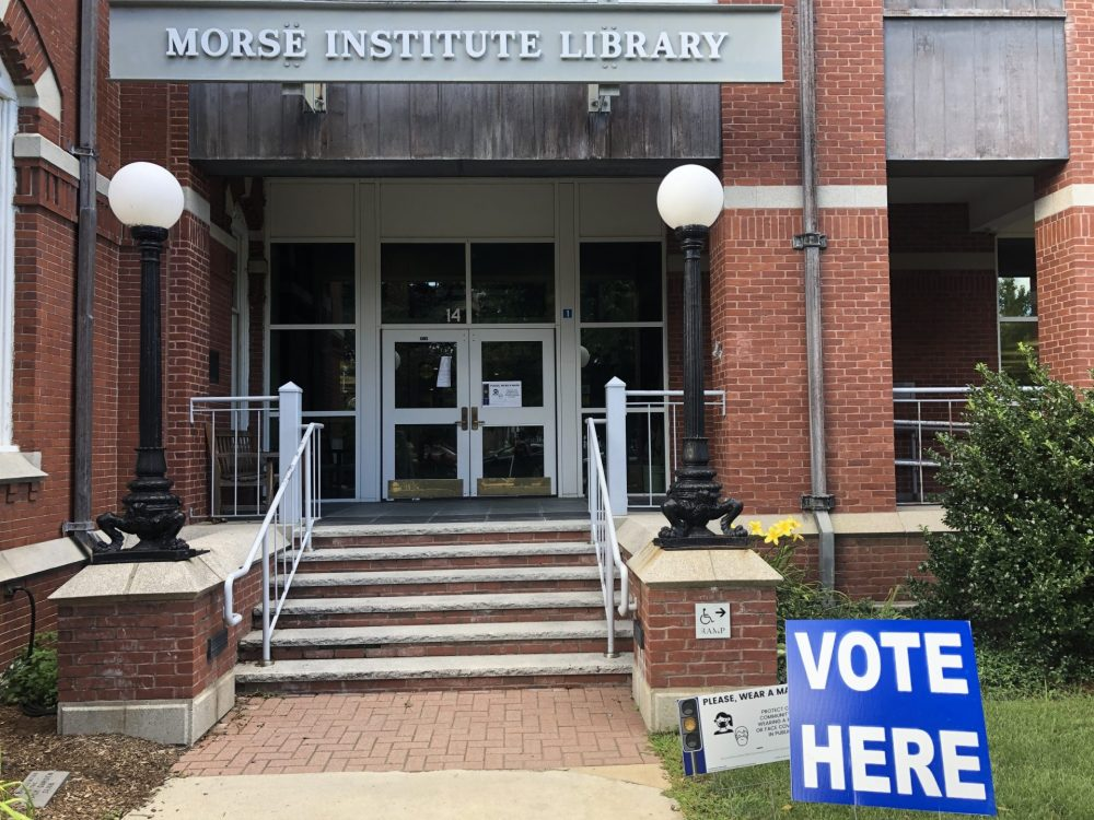 vote here morse institute library