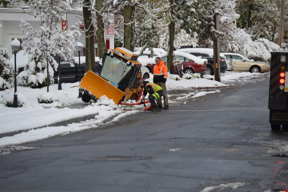 oct snow plow tilted natick