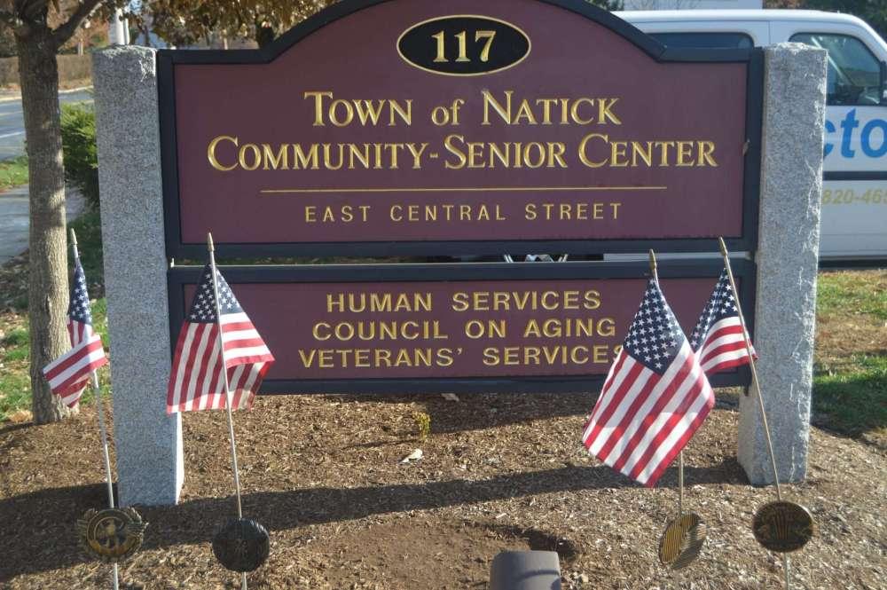 2020 natick veterans community center flags
