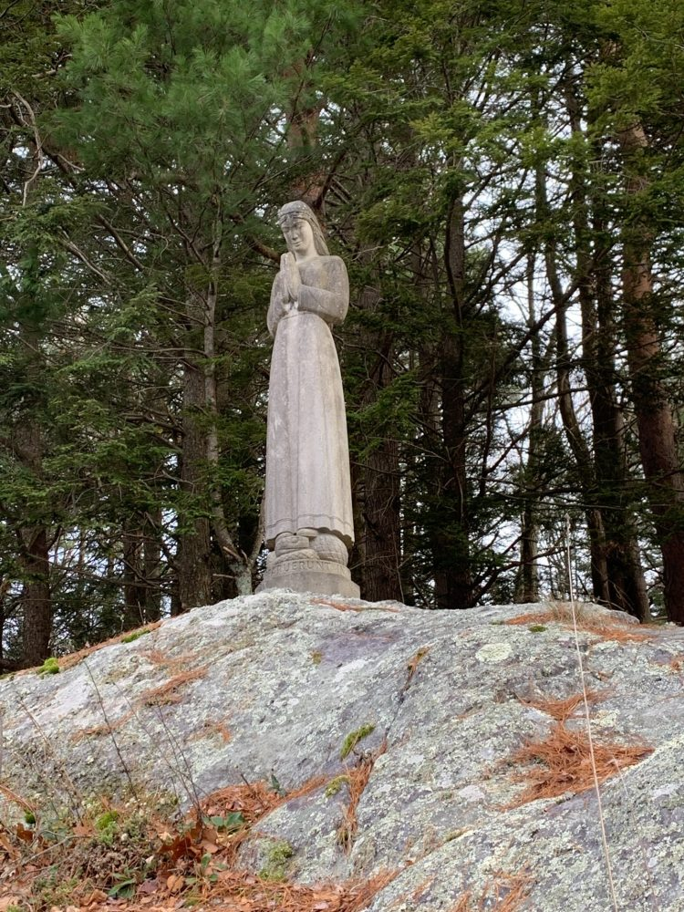 virgin mary statue south natick