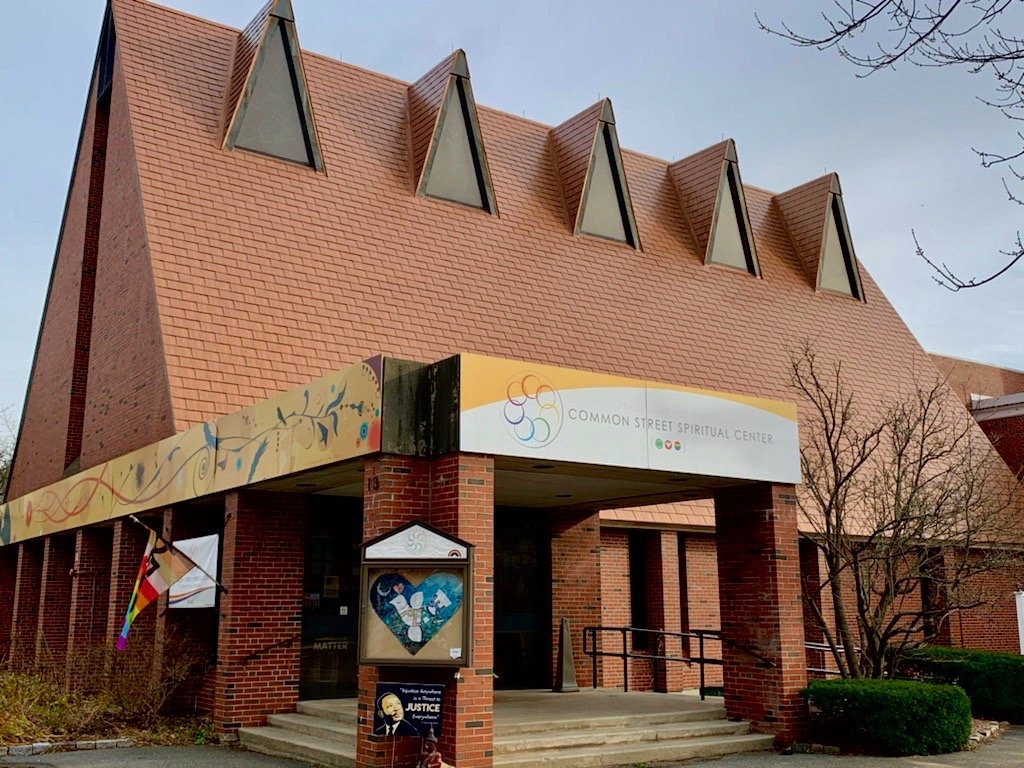 Common Street Spiritual Center, Natick, church
