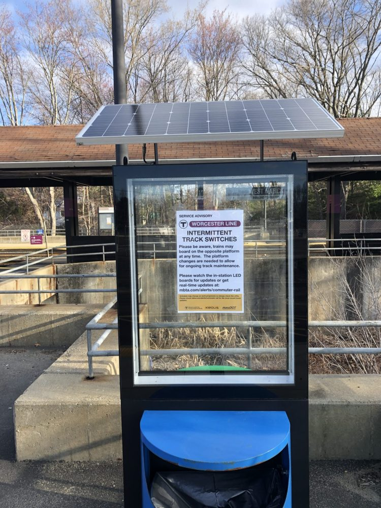 west natick trash can solar panel