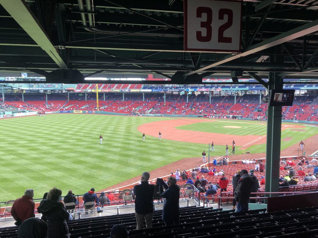 fenway opening day red sox